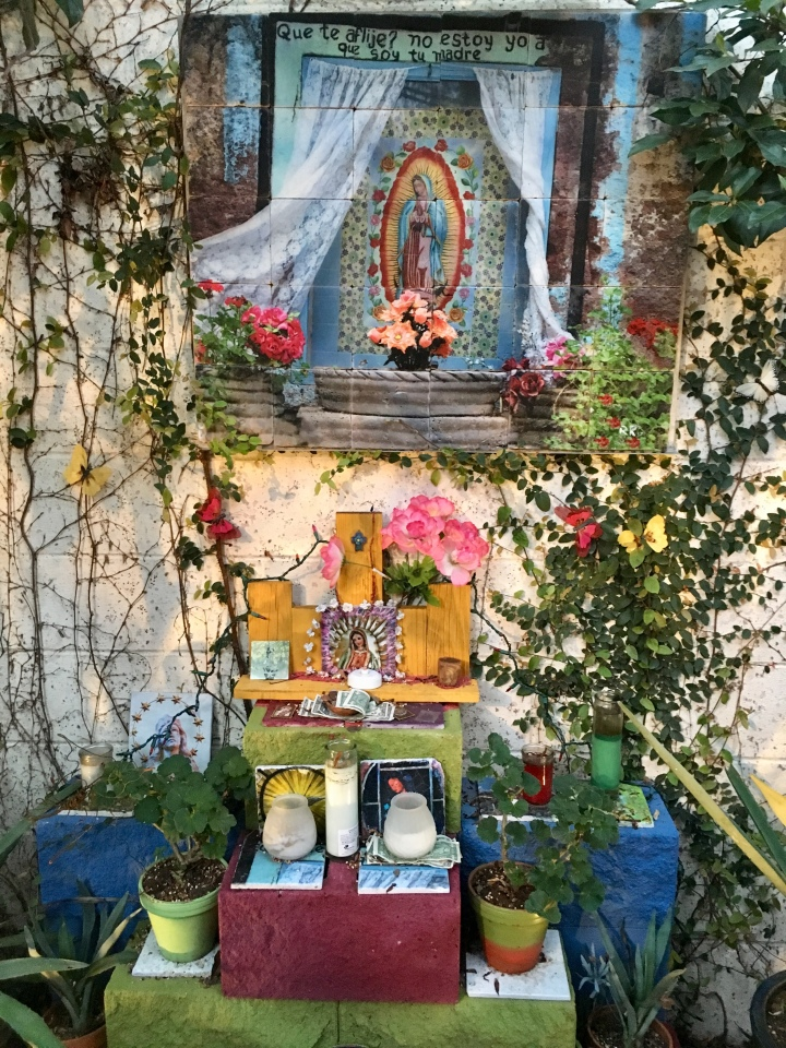 Altar for Virgin de Guadalupe